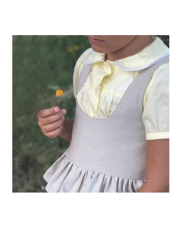Blusa Bordada Limón
